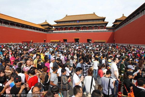 盘点国庆国内十大拥挤景区|游客|景区_凤凰资讯图片