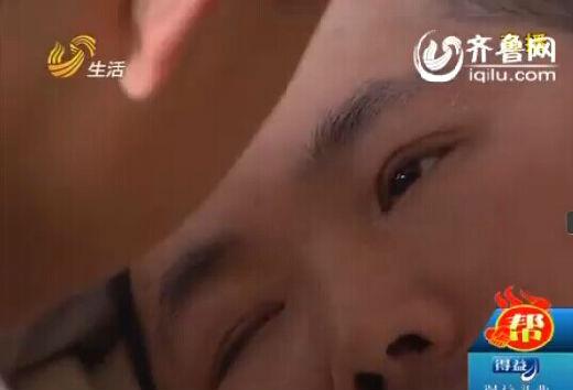 每天下午放学后,志昊第一件事,就是来到里面的房间看看爸爸。(视频截图)