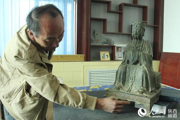 在横山县境内发现的以永昌年号铸造的文物。1644年正月,李自成在西安建立大顺政权,年号永昌。因其政权极其短暂,以该年号命名的文物也极其稀少。高岗/摄