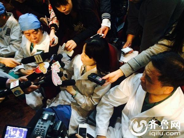 北京市儿童医院召开发布会