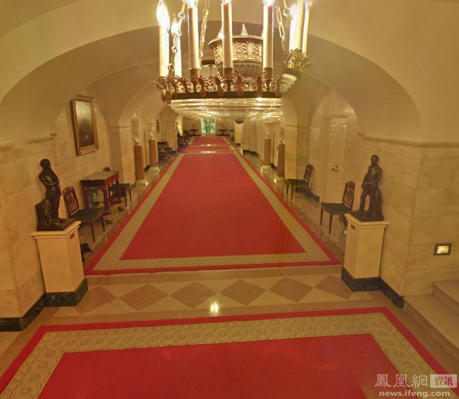 谷歌街景拍到的大量白宫内部照片 - 人在上海    - 中国新闻画报