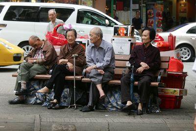 人口老化问题研究_基金 研究报告