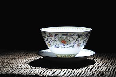 diy陶瓷杯手绘图案碗