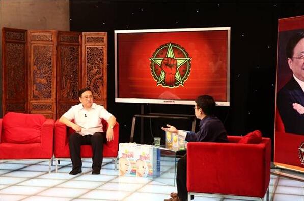 央视《商界传奇》专题采访北京二商健力董事长赵伟