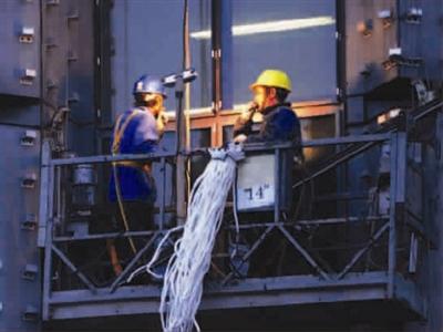 电气接线图 cad 吊篮