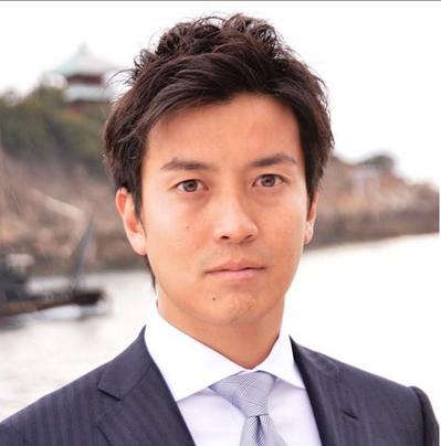 """第3名:广岛7区候选人小林史明。出身于NTT docomo,形象正面。致力于为渔业经营者解决""""渔业再生""""问题。(图片来源:赫芬顿邮报日语版)"""