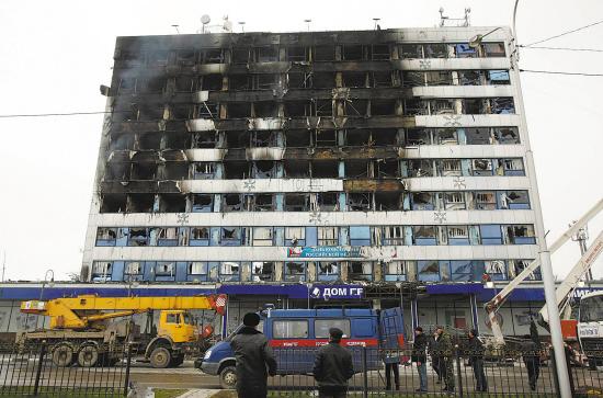 车臣武装分子袭击格罗兹尼|武装|车臣共和国