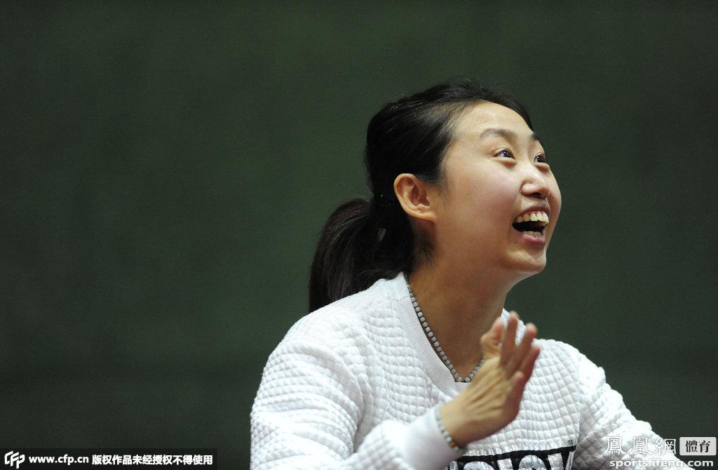 乒乓球蹦床郭跃中国走马上任兼任女乒教练员辽宁名将队何雯娜图片