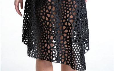 工作室利用3d打印技术制成世界上首件4d打印连衣裙