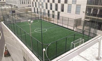 全国10年新建足球场只及篮球场零头