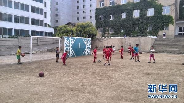 西方记者看不到的朝鲜(八):足球在朝鲜 足球 世