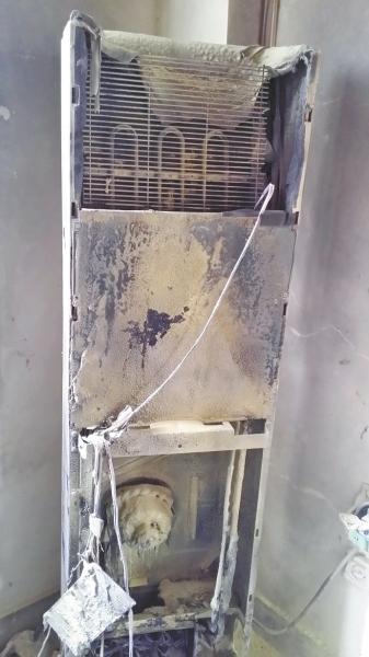 但空调连续自燃存在的安全隐患令人担忧,学校多次向空调厂家格力售后图片