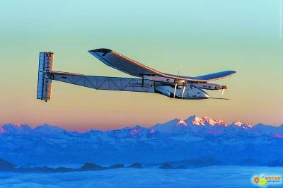 翼展72米太阳能飞机将环球飞行