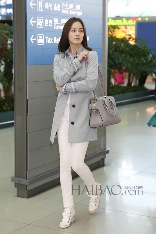 韩国女明星街拍合辑