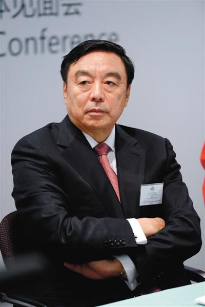 马蔚华资料图片。图/CFP