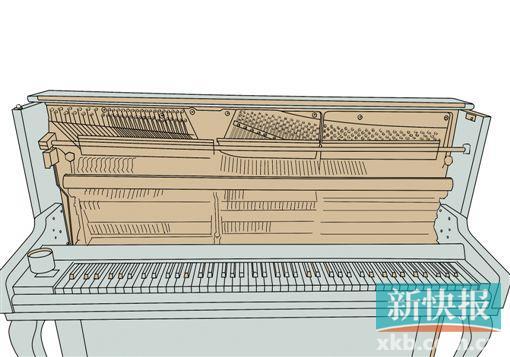 ●这是一架调整到最佳状态的钢琴,200多根琴弦调到了标准的音高,88个榔头修整到音色平均,按照从低到高到低的顺序,每个声音的过渡都很均匀。