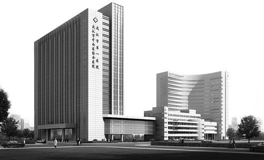 图文 江城首家医疗救治垂直快速通道落户武汉市第一医院新外科大楼高清图片