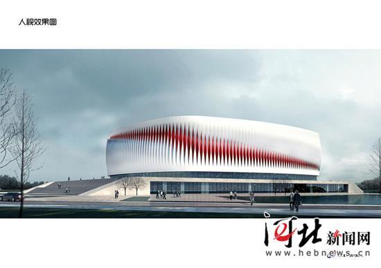 滚动新闻  原标题:河北省首个穹顶结构体育馆项目