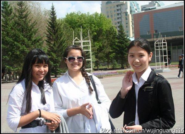 盛产美女的哈萨克斯坦!让中国男人看呆!