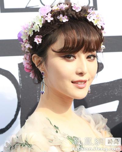 【有意思】外媒评戛纳电影节最美妆发 范冰冰上榜