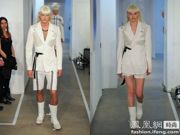 男模服装手绘设计图案