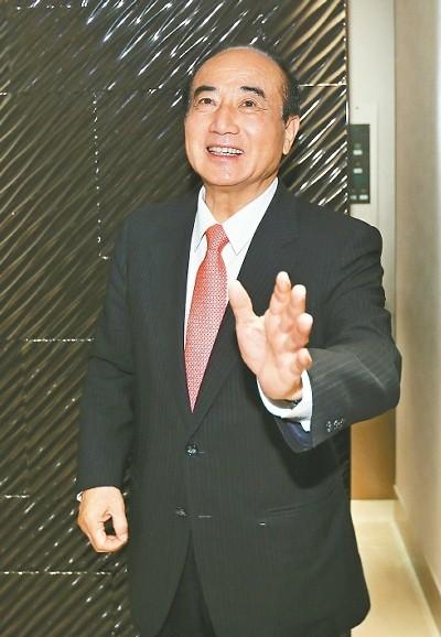 王金平(台湾《联合报》/苏健忠 摄)