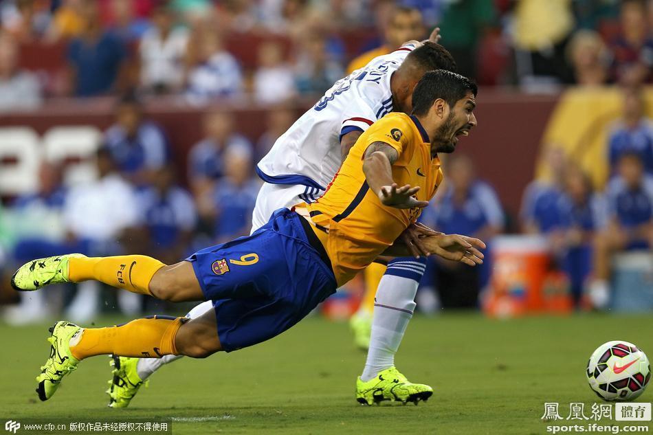 国际冠军杯 切尔西vs巴塞罗那