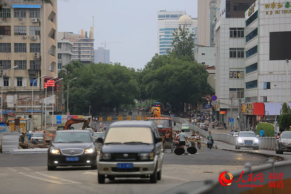 骅中街道风景