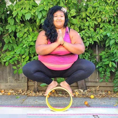 柔软的胖子,胖妹的瑜伽