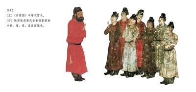 唐代官员服饰颜色-中国红 的前世与今生图片