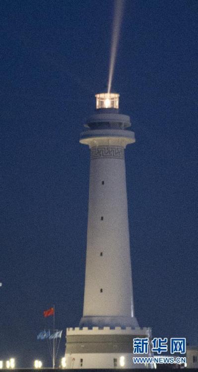 我国南海两座大型灯塔建成发光 - 中国娃 - 中日关系
