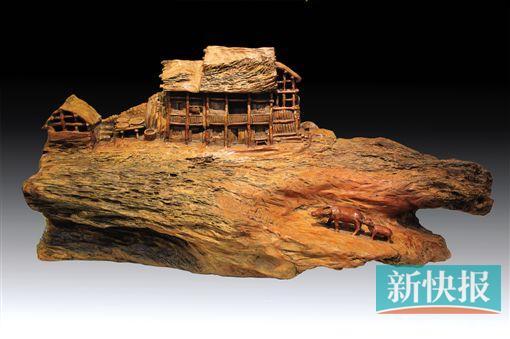 浙江 俞柏青 写意木雕