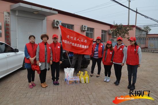 沧州市运河区人社局重阳节慰问敬老院|老人|老年_凤凰