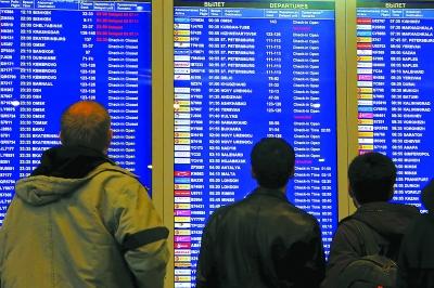 俄宣布暂停往来埃及航班