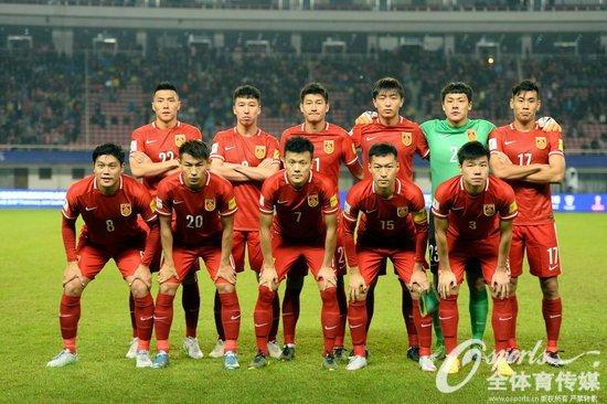 组图 2018世界杯预选赛 中国男足主场12 0横扫不丹
