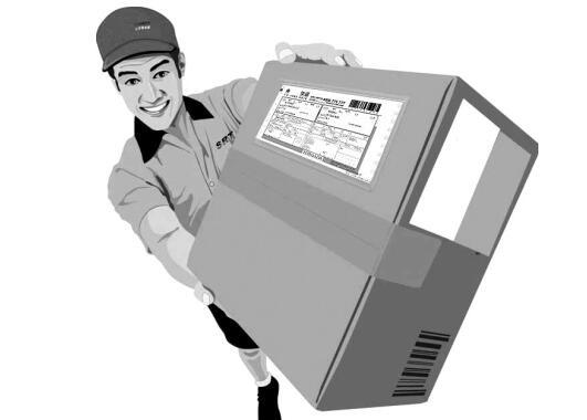 通过邮政寄包裹也会和快递一样上门