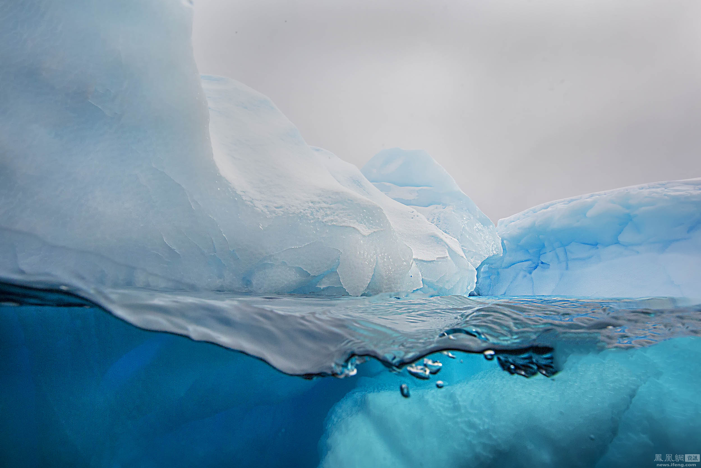 资讯_南极冰川下的美景_资讯频道_凤凰网
