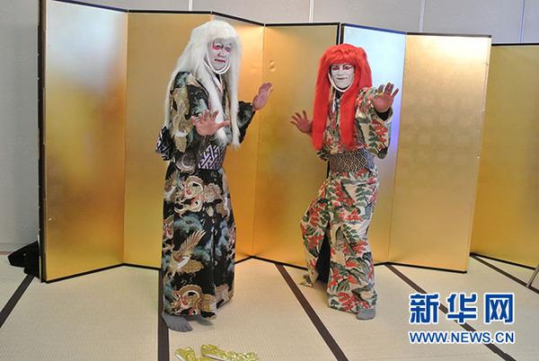 歌舞伎體驗服務(方藝曉攝)