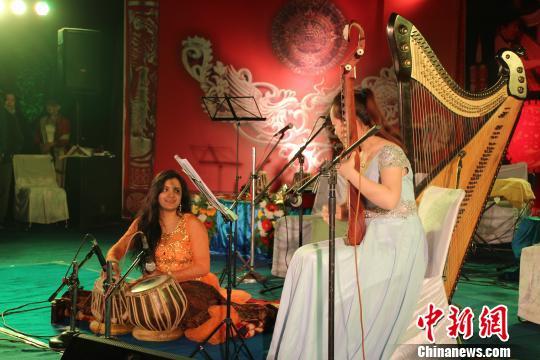 """""""丝绸之路""""中印音乐节在印举办"""