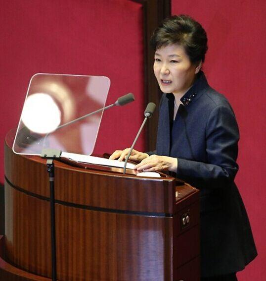 一个韩国人眼中的朴槿惠国情演说 朝鲜 韩国