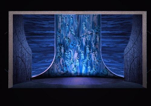 国家大剧院制作《唐豪瑟》舞美设计图(1 /4张)