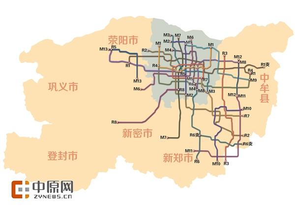 郑州市中心城区