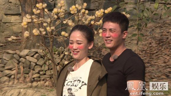 《旋风》陈乔恩杜淳遭撮合脸红 女方捂肚装怀