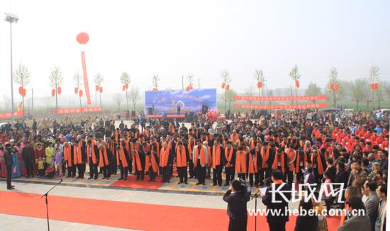 2016年董子公祭大典现场。刘朋朋 摄