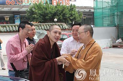 一路一带一家亲 泰国古巴亞里亞察大师莅临大佛寺
