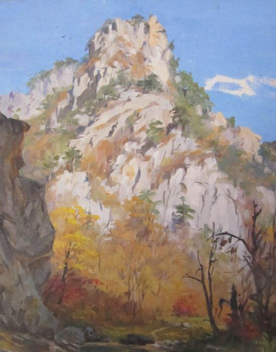 朝鲜油画风景作品赏析