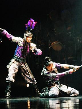 日本现代音乐舞台剧《木兰》精彩演出照[高清大图]
