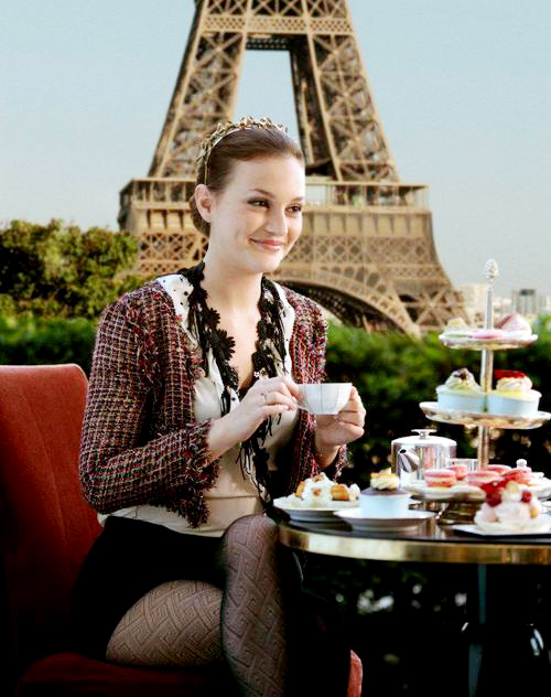 下午茶的欧式糕点在巴黎远名扬外的太多了
