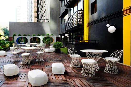 传统与现代 创意办公空间设计图片