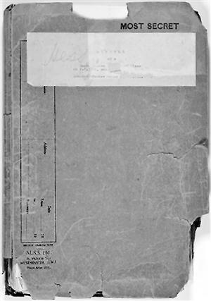 希特勒副手赫斯绝密文件被拍卖 估价20到30万美元